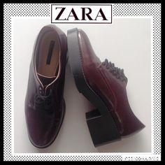 Spotted while shopping on Poshmark: ZARA Platform Oxfords! #poshmark #fashion #shopping #style #Zara #Shoes
