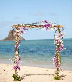 Romantic Hawaiian Archway | Photo by Caroline Tran