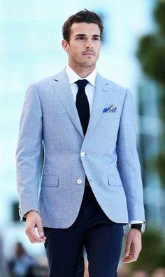 "Mens Fashion Magazine (MFM)'s Facebook photo ""Love this blazer, perfect for Spring/Summer."" #mensfashion"