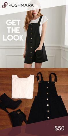 34778ea1b6 H M Overalls Skirt Cute overall dress skirt.