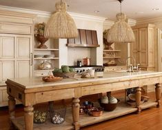 36 Farmhouse Kitchen Decor Ideas To Transform Your Kitchen. Tags: more search: farmhouse kitchen decor, farmhouse kitchen theme, farmhouse kitchen wall decor, modern farmhouse kitchen decor. Country Kitchen Designs, French Country Kitchens, Country French, Kitchen Country, French Country Lighting, Kitchen Design Center, Large Kitchen Island Designs, English Cottage Kitchens, European Kitchens