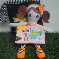 Ragdoll set with bag and notebook