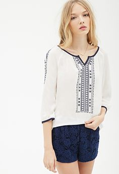 Prairie Embroidered Tunic | FOREVER21