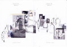 graduate collection - touch me - ArtsThread Fashion Portfolio Layout, Fashion Design Sketchbook, Portfolio Design, Cv Inspiration, Sketchbook Inspiration, Book Design, Layout Design, Sketchbook Layout, Fashion Collage