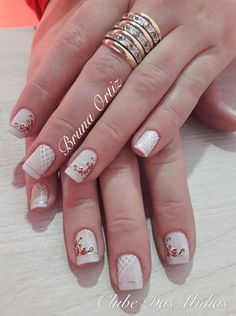 Red Nail Designs, Manicure E Pedicure, Red Nails, Cute Girls, Make Up, Nail Stuff, Projects, Nail Art Designs, Toenails Painted
