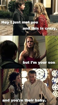 "This very accurate summary of the first season. | 24 Jokes Only ""Once Upon A Time"" Fans Will Understand"