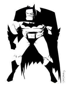 The Dark Knight Animated by markmchaley
