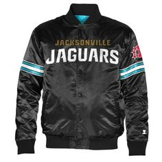 Throw on your Jaguars button-up jacket for cool game nights.