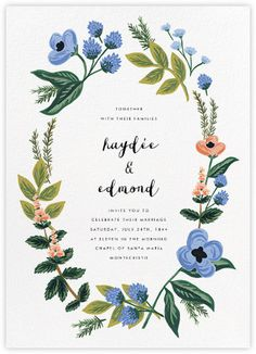 Rustic wedding invitations - online and paper - Paperless Post