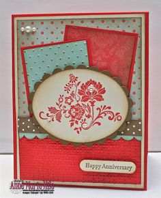 Stampin' Anne: Fresh Vintage with Fresh Colors- {PP#82}
