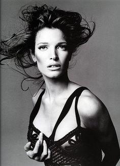 Stephanie Seymour by Richard Avedon for Vogue Spain, August, 1993