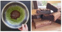 """Adding something strange to desserts isn't something I'musually very fond of doing… however, in this case it really works! I think the main reason this works so well is because of the high amount of """"good"""" fat in avocados. It helps to keep the texture chewy and the avocado-taste doesn't compete with the chocolate, so you're still left with a delicious chocolatey taste!"""