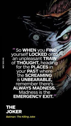 Ladies and gentlemen with you, The Joker