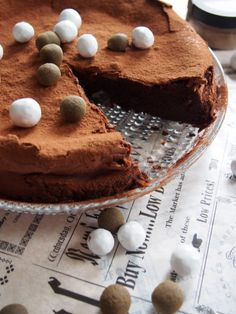 Liquorice mudcake #drsugar
