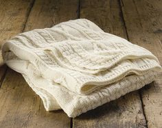 Just found this Blankets and Throws - Aran Cabled Knit Throw -- Orvis on Orvis.com!