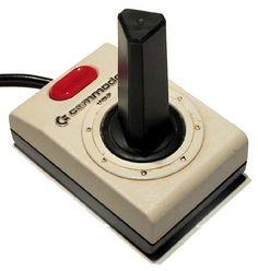 Commodore 64 joystick - quite similar to the Atari 2600 one...