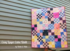 Tickle and Hide: Hello Petal Layer Cake Quilt