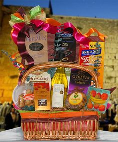 A Happy and Healthy...Jewish New Year's Gift Basket
