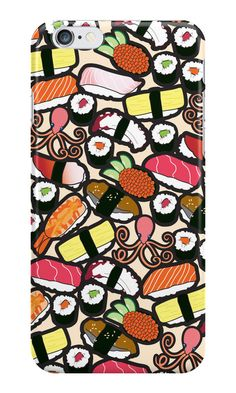 """""""Sushi iPhone Case"""" iPhone Cases & Skins by thickblackoutline 
