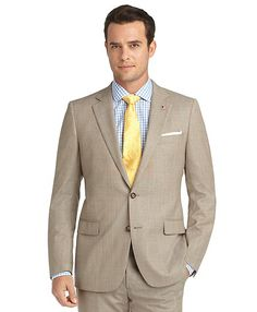 Brooks Brothers--Fitzgerald Fit Pin Dot 1818 Suit