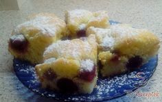 Puha cseresznyés sütemény
