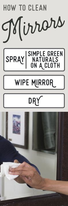 Mirrors are notoriously easy to smudge and streak, and improper cleaning technique can worsen the problem. Using a standard circular cleaning motion can actual Diy Cleaning Products, Cleaning Hacks, Spring Cleaning List, How To Clean Mirrors, Smudging, Alternative, Surface, Household Tips, Math Equations