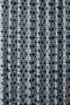 We have the UK's largest choice of Batik Indigo Blue Made to Measure Curtains available to buy securely on line, with fast delivery from our very own on site workshops
