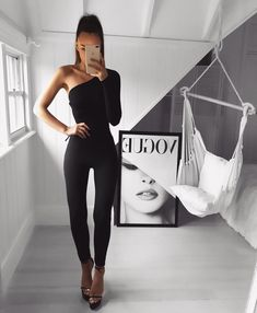 Excellent Outfits Ideas With Black Style Night Outfits, Classy Outfits, Chic Outfits, Trendy Outfits, Girl Outfits, Teen Fashion Outfits, Womens Fashion, Vetement Fashion, Neue Outfits