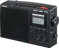 Sangean DAB AM/FM Portable Digital Radio DRP-45 | Portable Radios | ABC Shop