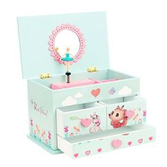Enchantmints Unicorn Music Box Music boxes Unicorns and Box