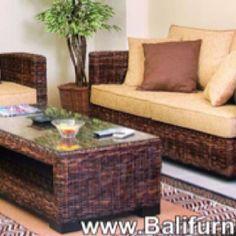 Bali rattan furniture