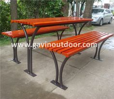 69 best outdoor picnic table images on pinterest metal picnic akzo nobel powder coated metal picnic table and benches outdoor wooden picnic table view wooden watchthetrailerfo