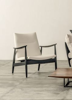 Claude Easy Chair by Shinsaku Miyamoto for Ritzwell. Available from Stylecraft.com.au