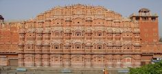 "Hawa Mahal Jaipur:- it is built by Maharaja Sawai Pratap Singh, Time Schedule; 9:00 Am To 4:00 PM ""Everyday"""