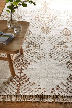 Gilt Stitch Rug - anthropologie.com