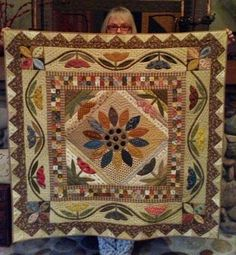 Hey, I found this really awesome Etsy listing at https://www.etsy.com/listing/217309478/primitive-quilt-pattern-field-of-flowers