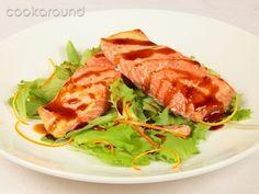 Salmone al vapore con salsa caramellata all'arancia: Ricette di Cookaround | Cookaround