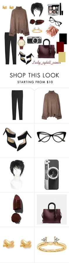 """So french"" by lady-sybill-vimes on Polyvore featuring мода, White House Black Market, Boden, Casetify, Lipstick Queen, Chanel, Coach, Kate Spade, Modern Bride и Komono"