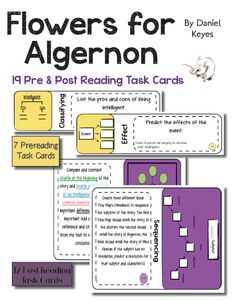 Use the intriguing short story \u201cFlowers for Algernon\u201d
