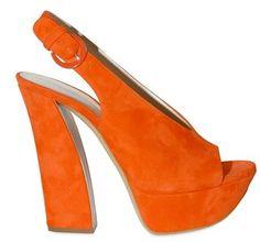 Con la vitamina C de estos zapatos color naranja, jamás me daría resfriado!