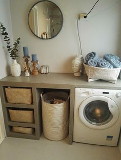 Beautiful laundry room diy