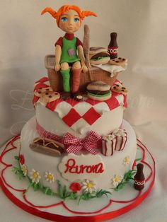 Pic-nic with Pippi - Cake by Eleonora Ciccone