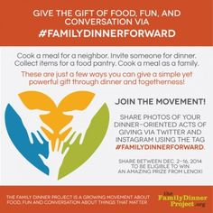 """""""Bloggers Share Their Family Mealtimes"""" ~ A fantastic team of bloggers rallies around family dinner for our #familydinnerforward campaign."""