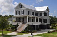 Smythe Park Home In Daniel Island SC By JacksonBuilt Custom Homes House Paint ColorsExterior