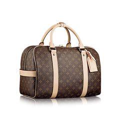 LOUISVUITTON.COM - Louis Vuitton Carryall (LG) MONOGRAM Travel