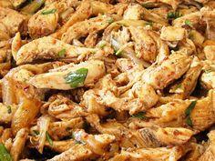 מתכון שווארמה חזה עוף, שווארמה מחזה עוף חתוך לרצועות בתיבול כמון ובהרט בתוספת בצל מטוגן - ארוחת צהריים טעימה לילדים אחרי בית הספר
