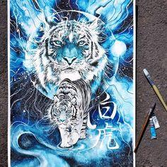 Потрясающие акварельные работы  Художник: Luqman Reza Mulyono