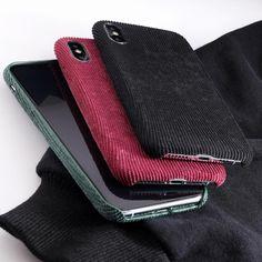 Stylish Fabric Cases For iPhone 7 8 6 6S Plus Case For iPhone X XS Max – i-Phonecases.com Iphone 8 Plus, Iphone 7, Iphone Cases, Fabric Textures, Textures Patterns, 6s Plus Case, Mobile Phone Cases, Iphone Models, Stylish