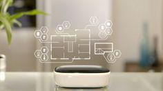Smart Home der Zukunft | Panasonic versteckt Technik im Schönen  Panasonic präsentiert in seiner Zukunft des Smart Homes Glasflächen, die sich zu transparenten Displays wandeln, Esstische, die Teller erhitzen u.v.m.  #panasonic #smarthome #tech #technews #smarttech #iot #automation #connected #technology #technologie
