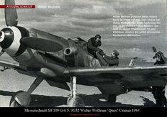Messerschmitt Bf 109G-6 5./JG52 Walter Wolfrum Crimea 1944